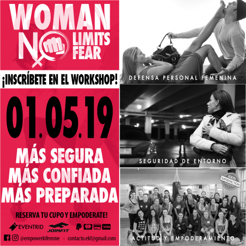 WORKSHOP » WOMEN NO LIMITS » 01- 05 -2019