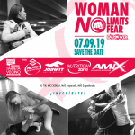 WORKSHOP » WOMEN NO LIMITS » 07- 09 -2019