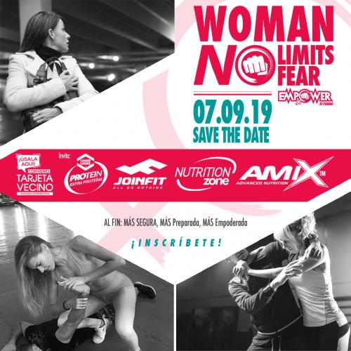 WORKSHOP » WOMEN NO LIMITS » 07- 09 -2019