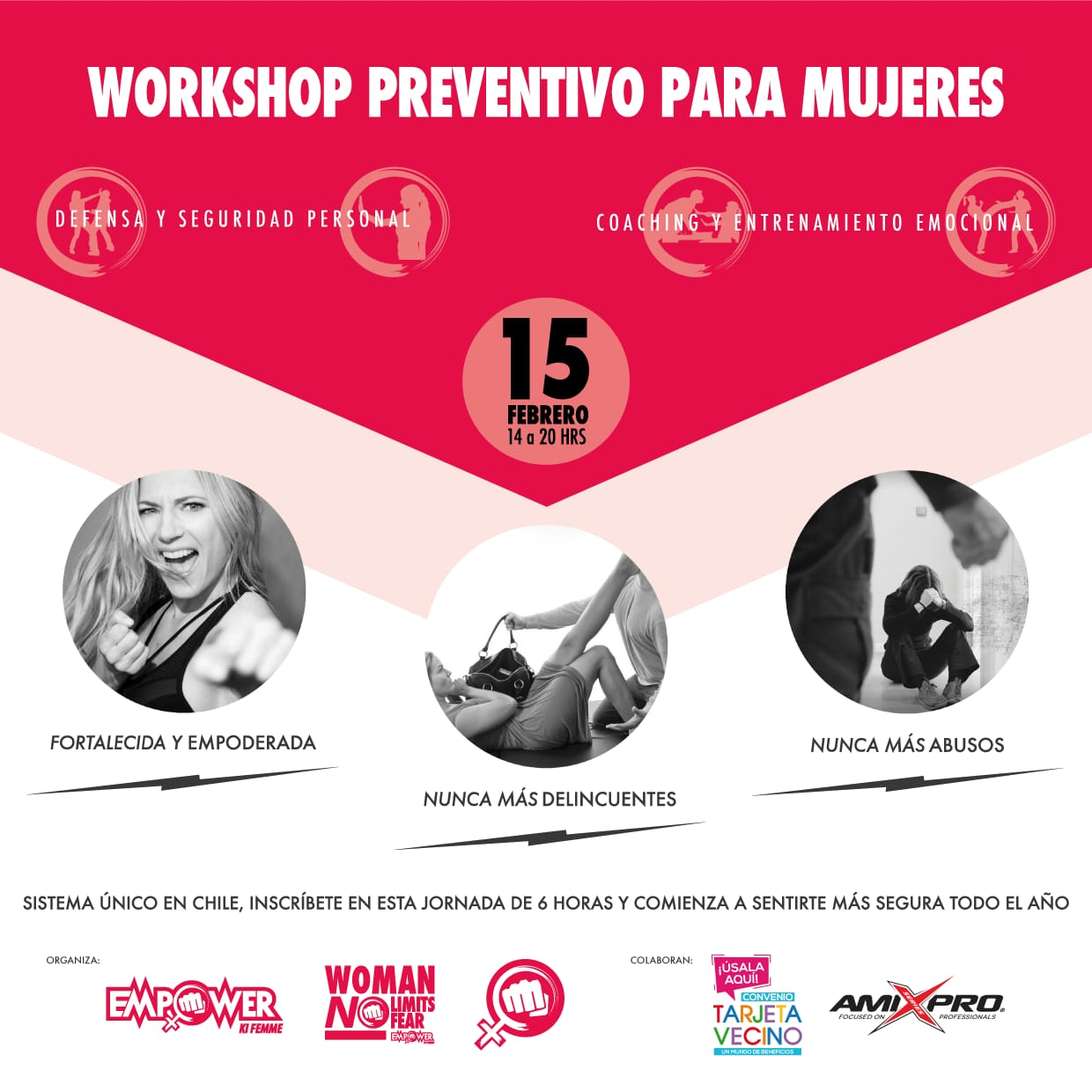 WORKSHOP PREVENTIVO PARA MUJERES